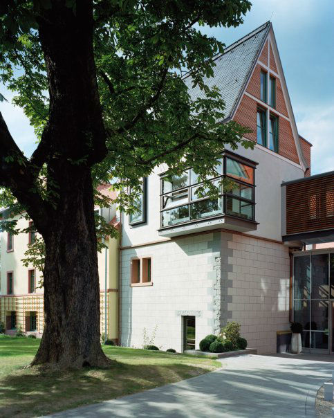 Beispiel: Hotel von Außen, Foto: Gerbermühle.