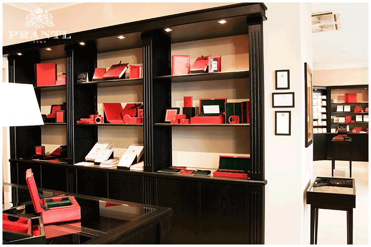 Beispiel: Prantl Store München, Foto: Prantl Online Shop.