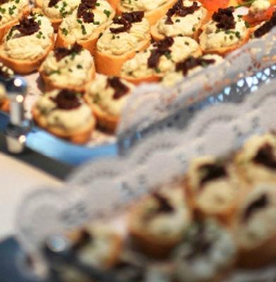 Beispiel: Fingerfood, Foto: München Catering.