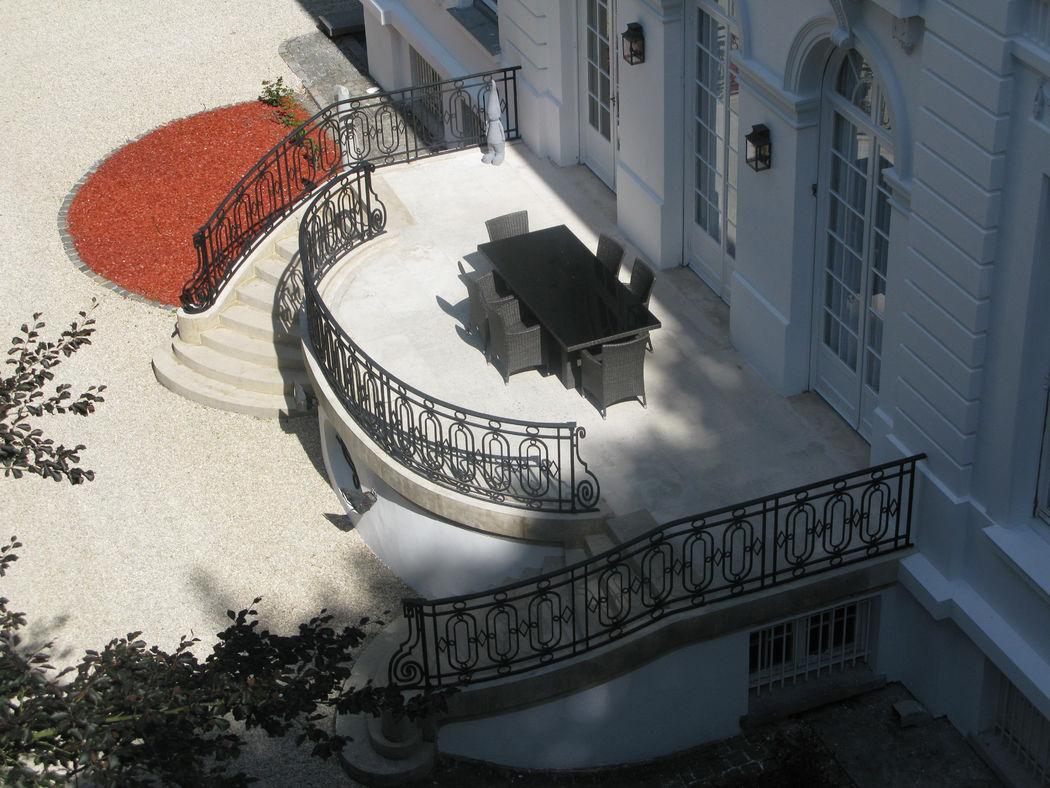 Votre terrasse au Château Blanc Olivier Sinic