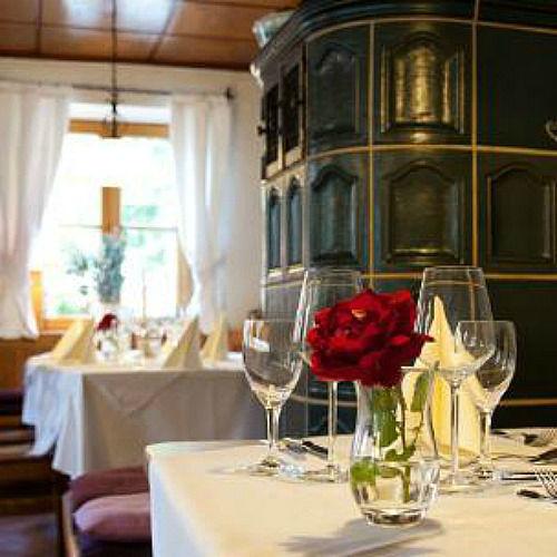 Beispiel: Tischdekoration, Foto: Landgasthof Lacherdinger.