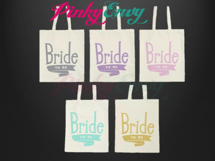Bolsas Bride o Bridesmaid