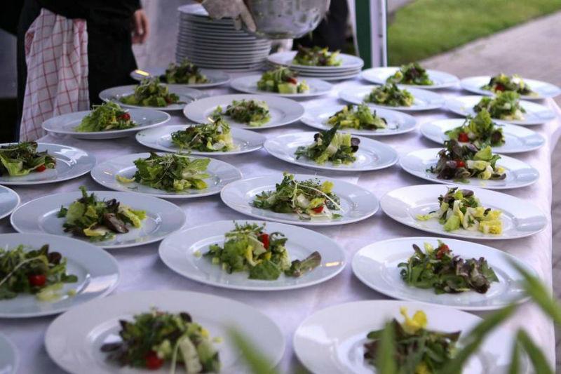 Beispiel: Menüs für Ihr Hochzeitsessen, Foto: Golden Catering.