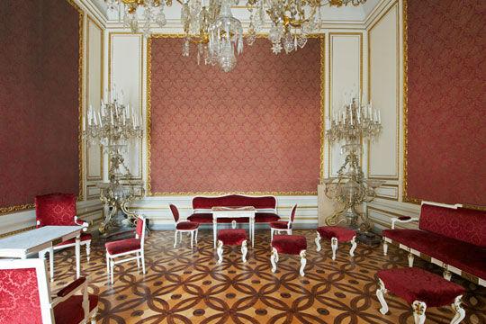Beispiel: Kaisersalon, Foto: Palais Pallavicini.