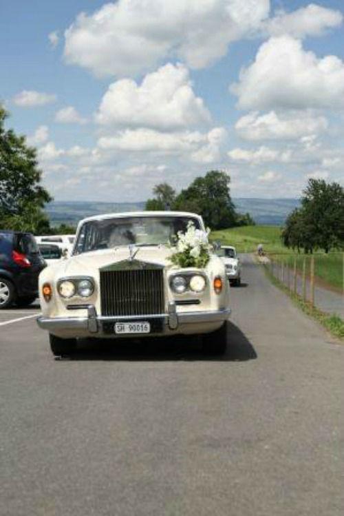 Beispiel: Hochzeitsauto, Foto: Art of Wedding.
