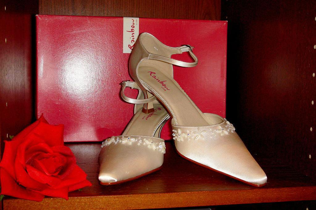 Beispiel: Brautschuhe zum Wohlfühlen, Foto: Der Brautladen Schuhe.