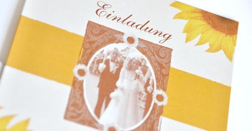 Beispiel: Persönliche Einladungen, Foto: Bibagrafik.