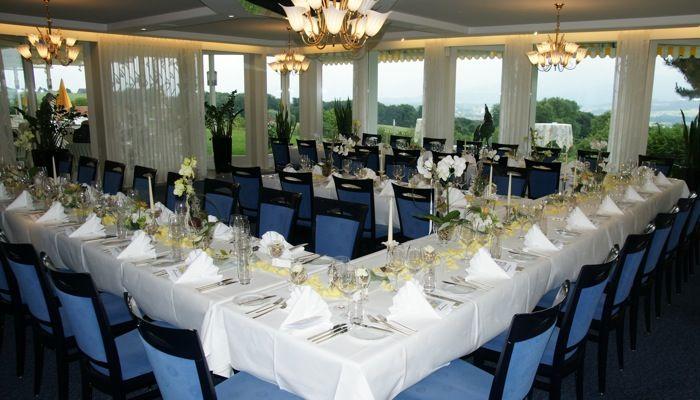 Beispiel: Wintergarten, Foto: Hotel Restaurant Vogelsang.