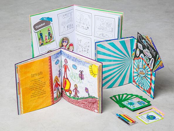 Projetos editoriais para livros infantis