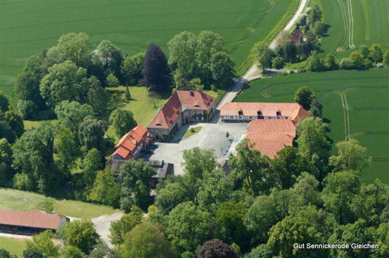 Beispiel: Luftaufnahme, Foto: Gut Sennickerode.