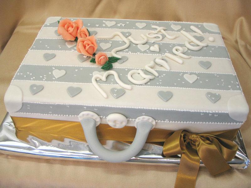 Beispiel: Hochzeitstorte, Foto: Konditorei Steidl.