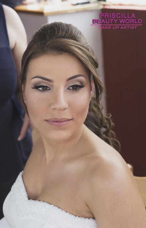 Priscilla Beauty World:  Make Up Sposa  Elena