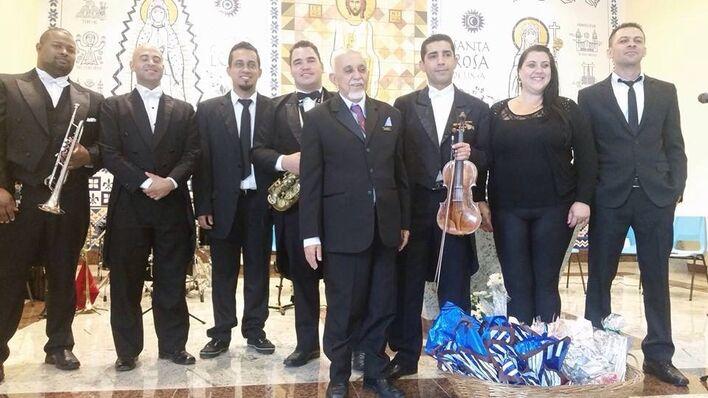 Concerto na Paróquia Santa Rosa de Lima