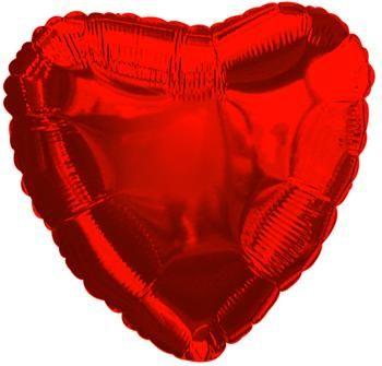 Beispiel: Herzballon, Foto: Ballonkurier.