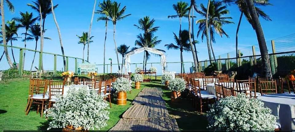 Casamento ao ar livre - Vilas do Atlantico