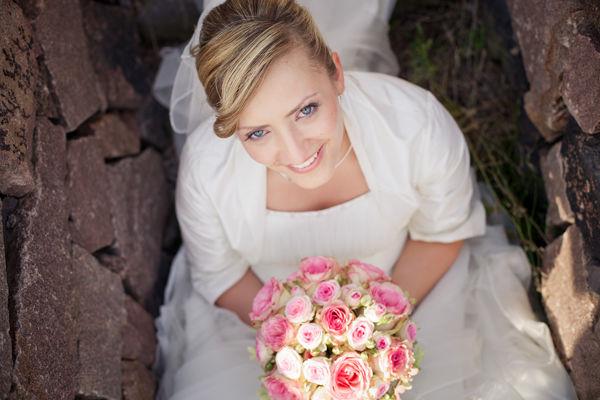 Beispiel: Portrait der Braut, Foto: Romeoplusjuliet Photography.