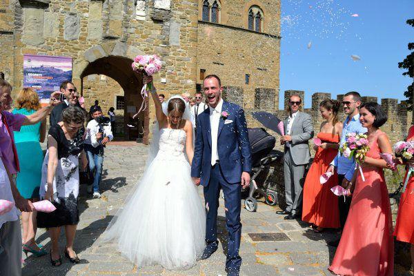 Sposarsi al castello di Poppi