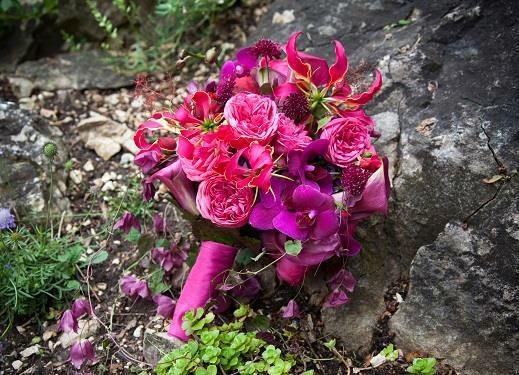 Beispiel: Brautstrauß, Foto: Blumenmanufaktur.