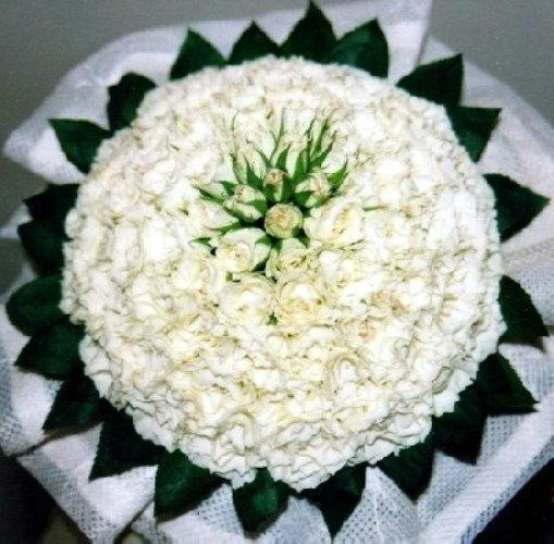 Beispiel: Wunderschöne Brautsträuße, Foto: Blumen Kleissner.