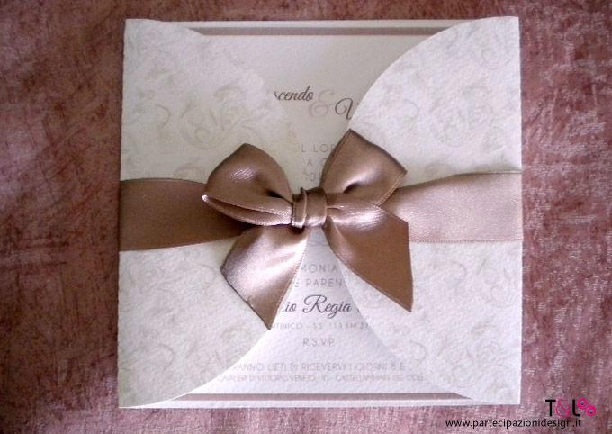 Soft&Rustic Tortora - Partecipazione Thelma & Louise Wedding Invitations