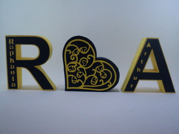 Personalize Artes e Convites Com letras Personalizadas