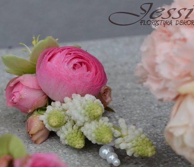 kwiatki do butonierki   #wiosna