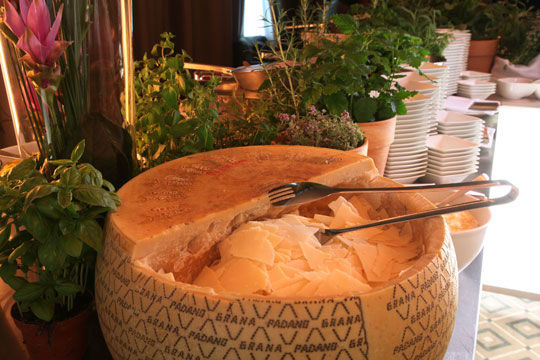 Beispiel: Käse, Foto: Kuffler Catering.