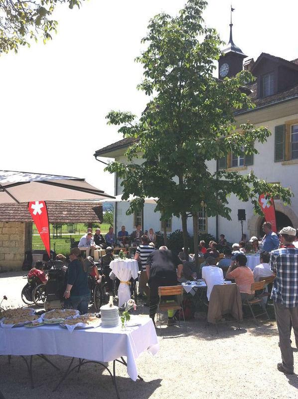 Beispiel: Außenansicht, Foto: St. Petersinsel Restaurant & Klosterhotel.