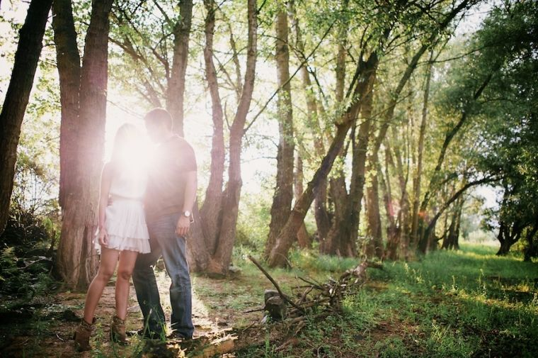 Beispiel: Engagment-Shooting, Foto: Schmidt Photography.