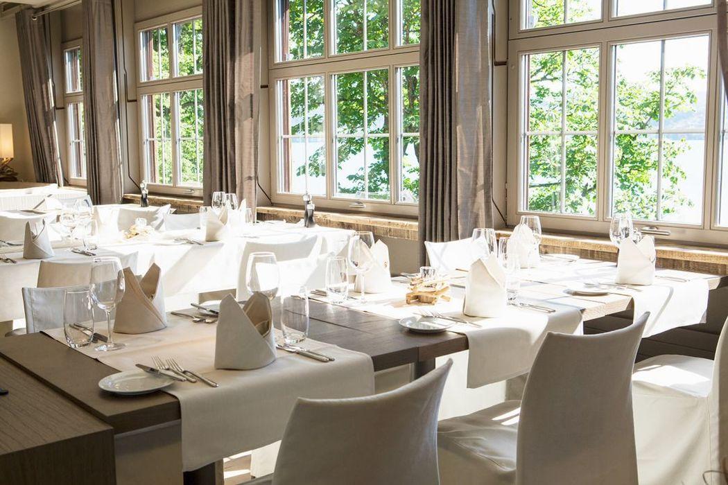 Beispiel: Tischdekoration, Foto: Seerose Resort & Spa.