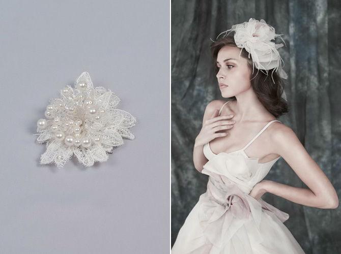 Beispiel: Blume für das Haar, Foto: Verinas.
