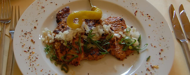 Beispiel: Gastronomie, Foto: Hofgut Rheingrafenstein.