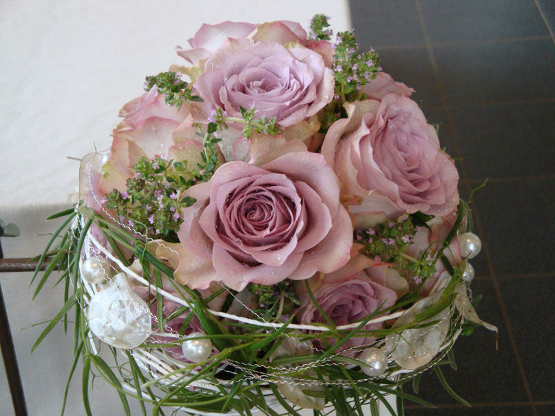 Beispiel: Brautsträuße, Foto: Blütenreich.