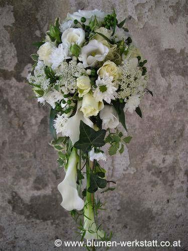 Beispiel: Brautstrauß, Foto: Blumenwerkstatt Klára Kwas.