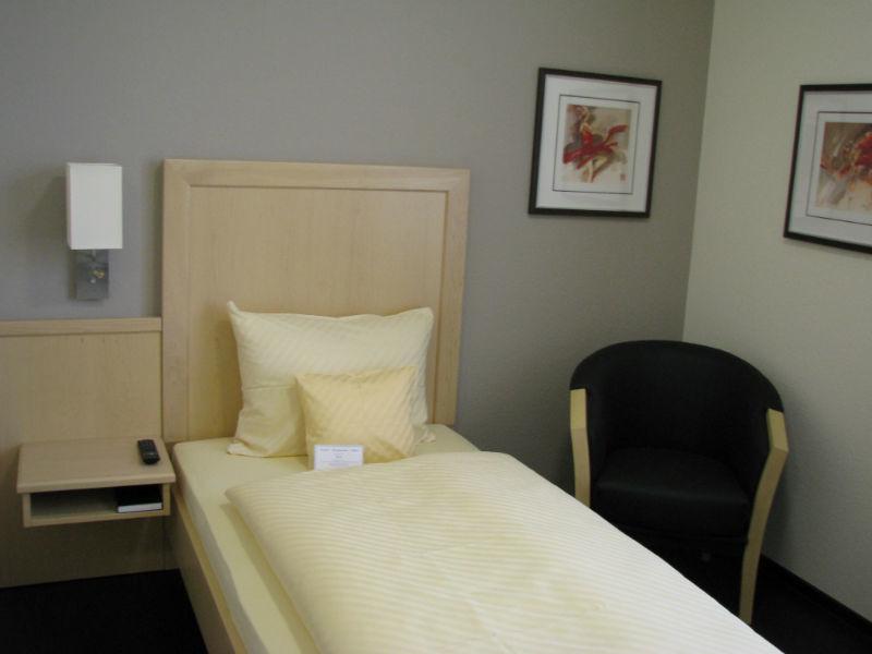 Beispiel: Zimmer, Foto: AKZENT Hotel Albert.