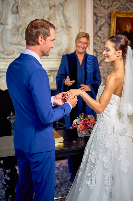 Pulitzer Amsterdam Wedding Ceremony