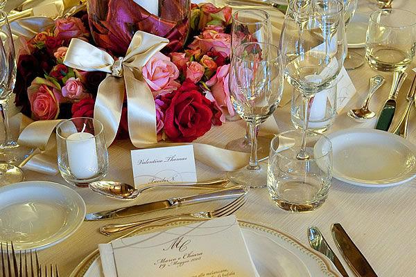 Mise en Place - La Buona Tavola Catering&Banqueting Firenze
