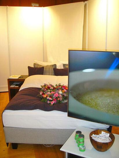 Beispiel: Zimmer, Foto: Waldhotel Stuttgart.