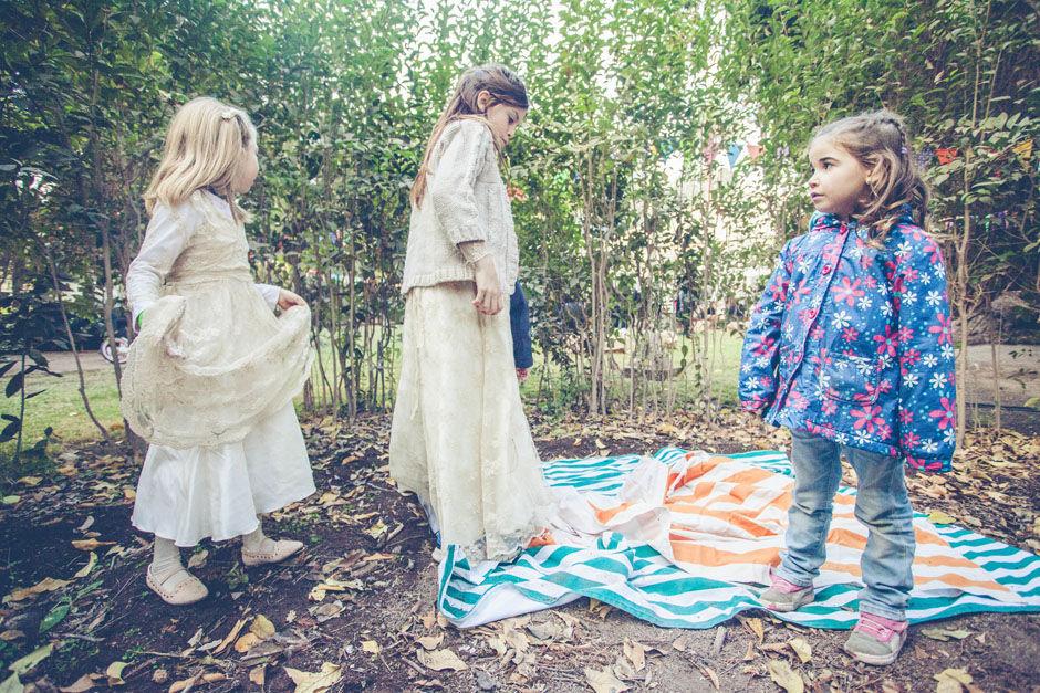 Los niños en el bosque