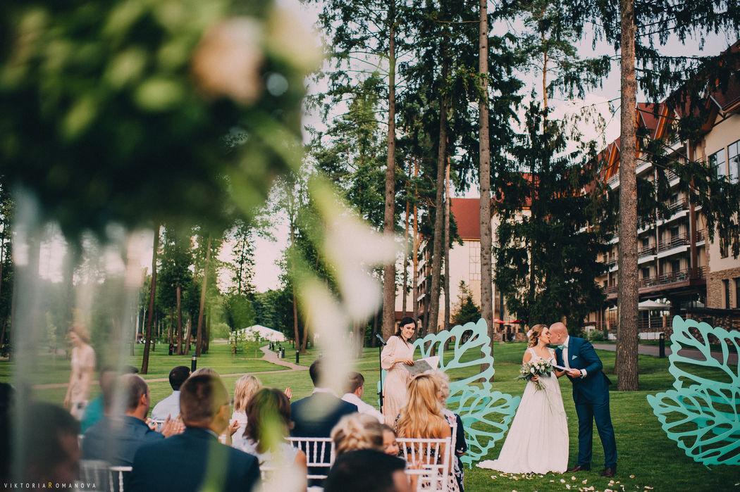 Мятная свадьба Вика и Руслан.