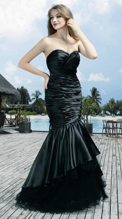 Beispiel: Abendmode, Foto: DRESS.