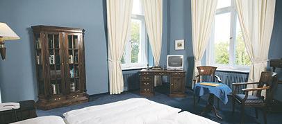 Beispiel: Ankleidezimmer der Gräfin, Foto: Schlosshotel Ralswiek.