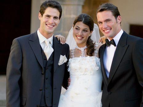 Beispiel: Hochzeitsmode Herren, Foto: Helm exquisit.