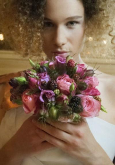 Foto: Strahlend schön am Hochzeitstag, Foto: Le salon mobile.