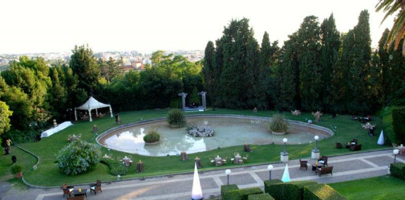 Il parco - Villa Miani
