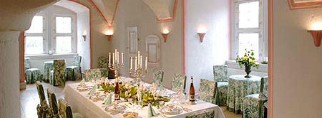 Beispiel: Gewölbesaal, Foto: Wasserschloss Hülsede.