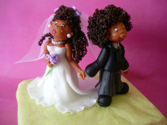 centro de torta personalizado afro