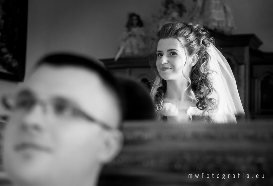 MWFotografia Studio - portret panny młodej