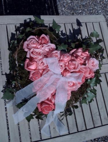 Beispiel: Florale Kunst, Foto: Traumwerk.