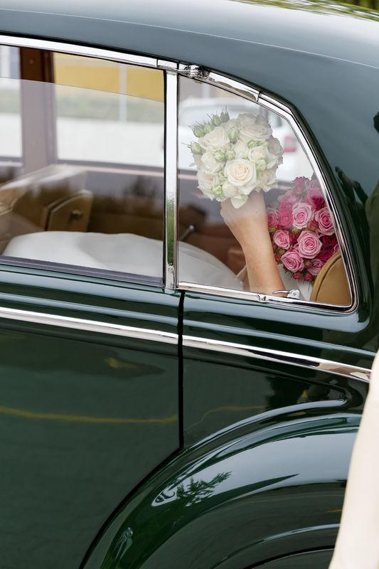 Details des Hochzeitstages